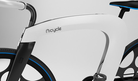 This Slick, Foldable Electric Bicycle Is Almost Impossible To Steal   Sustain Our Earth   Scoop.it