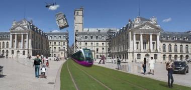 DÉLIRE architectural sur le tramway de Dijon, par le collectif Fakir | The Architecture of the City | Scoop.it