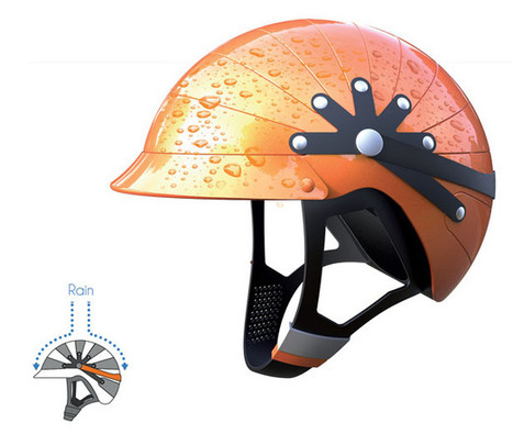 Share The Protection with Tandem Helmet | Tuvie | Industrial Design | Scoop.it