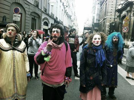 Les clowns indignés, mandatés pour les contrôles de sourires de la gendarmerie... | #marchedesbanlieues -> #occupynnocents | Scoop.it