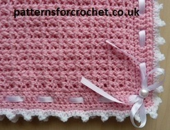 Free baby crochet patterns Pram Cover/Blanket USA/CAN | Free Crochet Patterns | Scoop.it