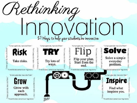 27 Ways To Inspire Innovative Thinking In Students | Sharing Information literacy ideas | Scoop.it