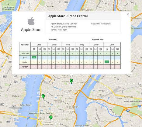 Filas para o iPhone 6 continuam grandes em New York, um mês depois | Apple iOS News | Scoop.it
