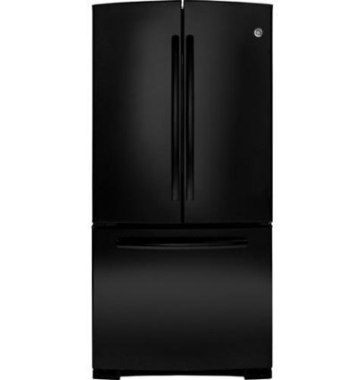 ***  Check Price & Review   GE GNE22GGEBB 22.1 Cu. Ft. Black French Door Refrigerator – Energy Star GE | Cheap Refrigerators on Sale | Scoop.it