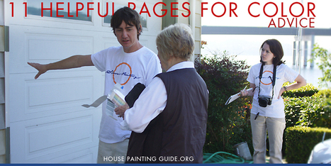 Choosing House Paint Colors | Resource Guide - House Painting Guide | Paint Colors | Scoop.it