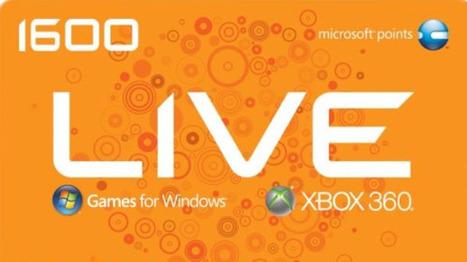 Xbox Live Microsoft Points Generator 2013 | generateur de code jeux | Scoop.it