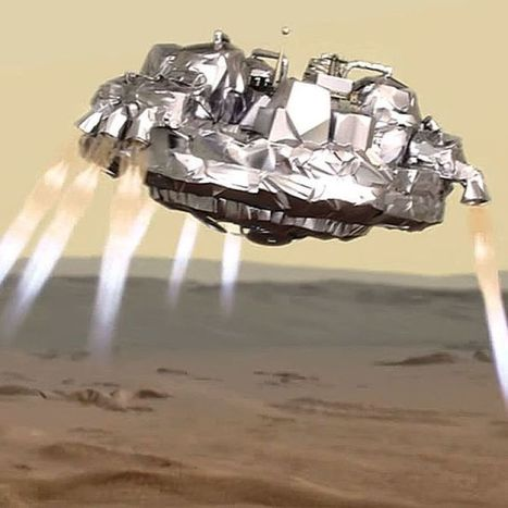 European-led Mars lander to start descent on Red Planet | Amazing Science | Scoop.it