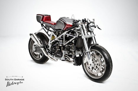 South Garage Cafè, Caggiano (Sa) Italy | Ducati 749 - Wonderful Creature | Ductalk Ducati News | Scoop.it