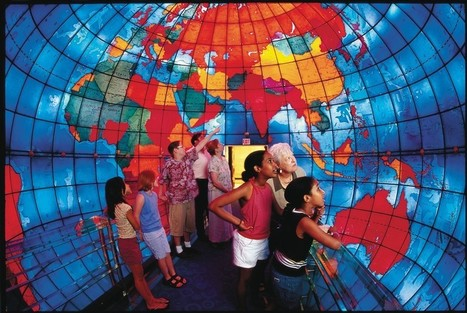 See the Inside-Out World in Perfect Scale at Boston'sMapparium | STEM Connections | Scoop.it