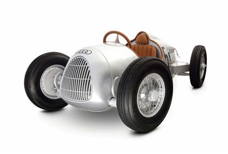 AUTO UNION TYPE C 1/2 SCALE PEDAL CAR | Art, Design & Technology | Scoop.it
