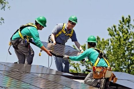 Solar industry job growth jumped 20% in 2013 | Sustainability Science | Scoop.it