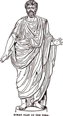The Roman Toga   Teaching history and archaeology to kids   Scoop.it