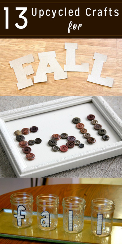 13 Upcycled Fall Crafts to do this Weekend | THE GREAT KAPOK TREE | Scoop.it