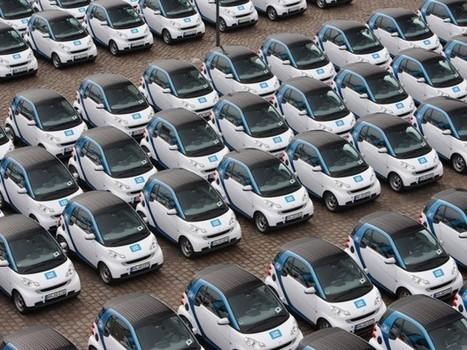 Autopartage : 1,2 millions de véhicules vendus en moins d'ici 2020 ... - Techno-car | actions de concertation citoyenne | Scoop.it