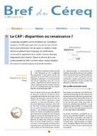 Le CAP : disparition ou renaissance ? | PEDAGO-ANDRAGO-APPRENANCE | Scoop.it
