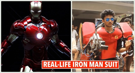 Indian Engineering Student Builds a Real-Life Iron Man suit for just $750 | Android Hacking | Scoop.it