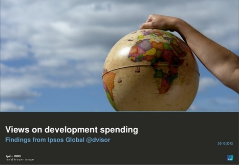 Half think aid spending is wasted -IPSOS | International aid trends from a Belgian perspective | Scoop.it
