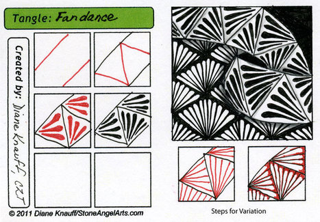 Steps for Fandance | Artistic Line Designs-all free | Scoop.it