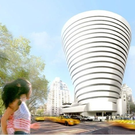 Guggenheim Announces Expansion of Frank Lloyd Wright Museum  [A/N Blog]   The Architecture of the City   Scoop.it
