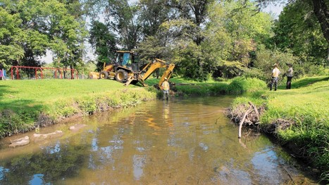 Coplay Creek getting bank and fish habitat restoration - Allentown Morning Call | Fish Habitat | Scoop.it