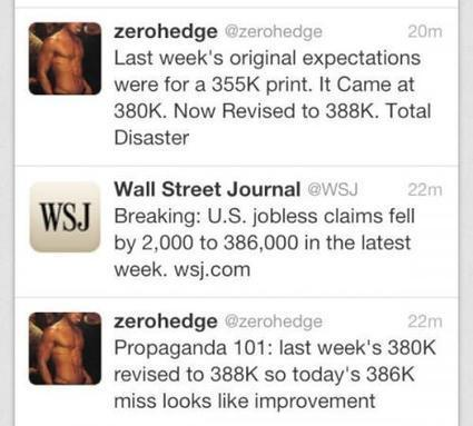 Initial Claims #Propaganda 101 | ZeroHedge | Commodities, Resource and Freedom | Scoop.it