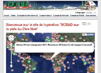 Suivez le parcours du père Noël sur internet   Editeurs   Bilans internet, media, réseaux sociaux de 2011   Scoop.it