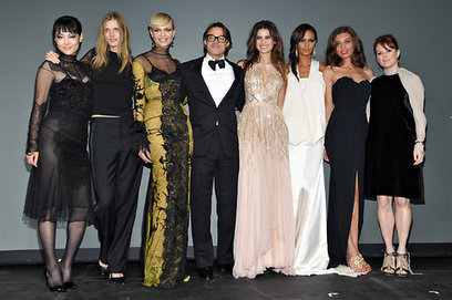 2012 Pirelli Calendar Gala: Dressed Up for a Dressed-Down Production - New York Times    (includes link to this years photos on the Pirelli website, which are full nudity this year so we can't post...   Ductalk Ducati News   Scoop.it