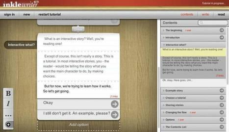 InkleWriter. Créer des histoires interactives – Les Outils Tice | Les outils du Web 2.0 | Scoop.it
