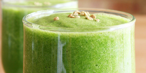 Green Smoothie Recipes: 11 Healthy Drinks Made With Fruits And Veggies - Huffington Post Canada | Healthy Food Tips & Tricks | Scoop.it