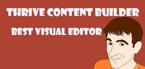 Thrive Content Builder Review: Best Visual Editor | blog | Scoop.it