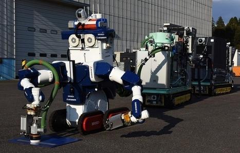 Japon: Une équipe de robots «décontaminateurs» pour la centrale de Fukushima | Japan Tsunami | Scoop.it