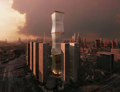 REX wraps equator tower in fully retractable brise-soleil - designboom | architecture & design magazine | Architecture MIPIM | Scoop.it