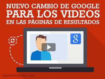 Nuevo cambio en las páginas de resultados de Google para los videos - ePyme | Novedades en Marketing Online | Scoop.it