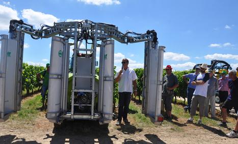 A tech & bio, des alternatives pour la viticulture | Agriculture Aquitaine | Scoop.it