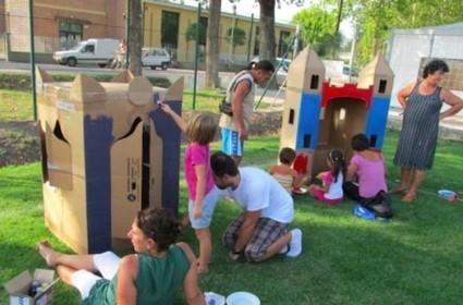 Le casette in cartone di Nonno Silvano | Psicologia e... | Scoop.it
