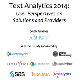 A Look at the Text Analytics Industry | Text Analysis, Text Mining, Sentiment Analysis, Entity Extraction | Scoop.it