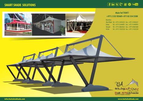 Car Parking Shades   Tensile Shades   Smart Shades   Tents for Sale & Hire for Wedding, Ramadan, Exhibitions, Trade Shows, Corporate Events, Conferences, Sports Events, Concerts,etc   Scoop.it