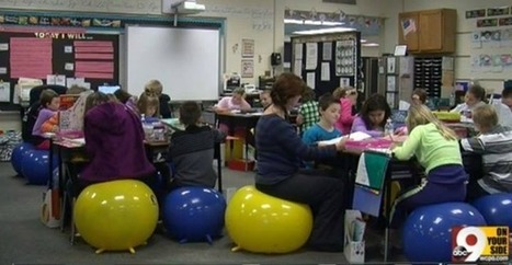 Stability Balls in the Classroom Cut the Wiggles and Increase Learning   Physical Education Methodology   Scoop.it
