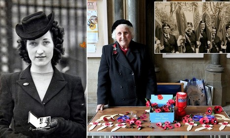 Britain's longest serving poppy seller, 91, is back for her 75th year | On My Front Porch | Scoop.it