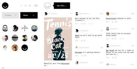Ello : le réseau social anti-Facebook a-t-il une chance de percer ? | art , photo, design, culture digitale | Scoop.it