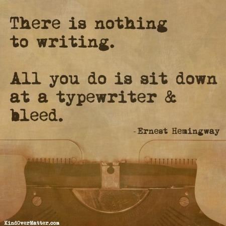 There is nothing to writing... | Create! Words or Otherwise | Scoop.it