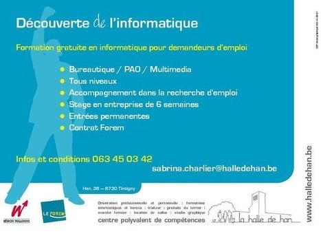 Découverte de l'informatique (Formation CDR/ Halle de Han) | Facebook | Comptoir Numérique | Scoop.it