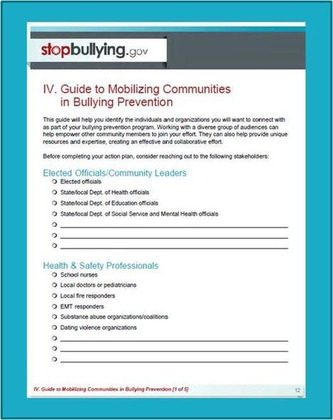 Ready to make a difference? A new training resource can show you how. – Blog | StopBullying.gov | Online Bullying and Internet Safety Resources | Scoop.it
