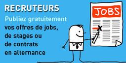 Premier emploi : le Web en première ligne - Letudiant.fr | Se former pour inventer le futur | Scoop.it