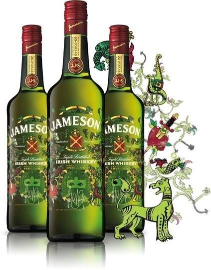 Jameson Limited Edition - garrafa feita pelo designer da banda U2.   30 prendas criativas que fazem toda a diferença!   Scoop.it