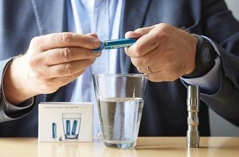 La pile écolo qui fonctionne avec de l'eau | Insolite DD | Scoop.it