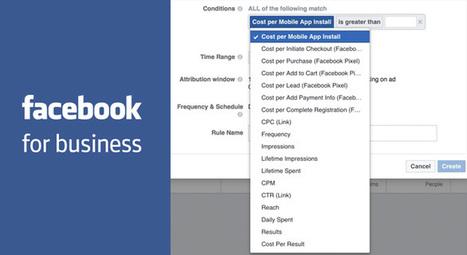 De nouvelles règles conditionnelles pour gérer les publicités Facebook ! | CommunityManagementActus | Scoop.it
