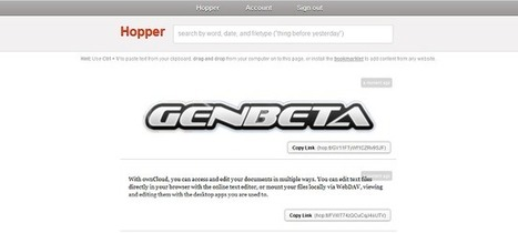 Hopper, guarda y comparte imágenes, archivos, texto y enlaces fácilmente | EDUDIARI 2.0 DE jluisbloc | Scoop.it