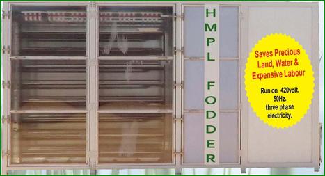 Fodder Machine – A Machine That Produces Quality Grass for Livestock   Fodder Machine   Scoop.it