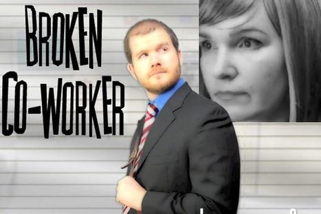 Broken Co-Worker | Interactive Scenario | Business English Video | Scoop.it